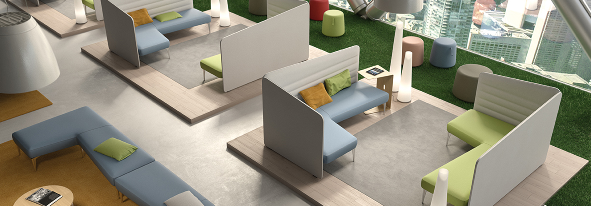 Elle Sofa | Soft Seating - Smart Office | LTContract