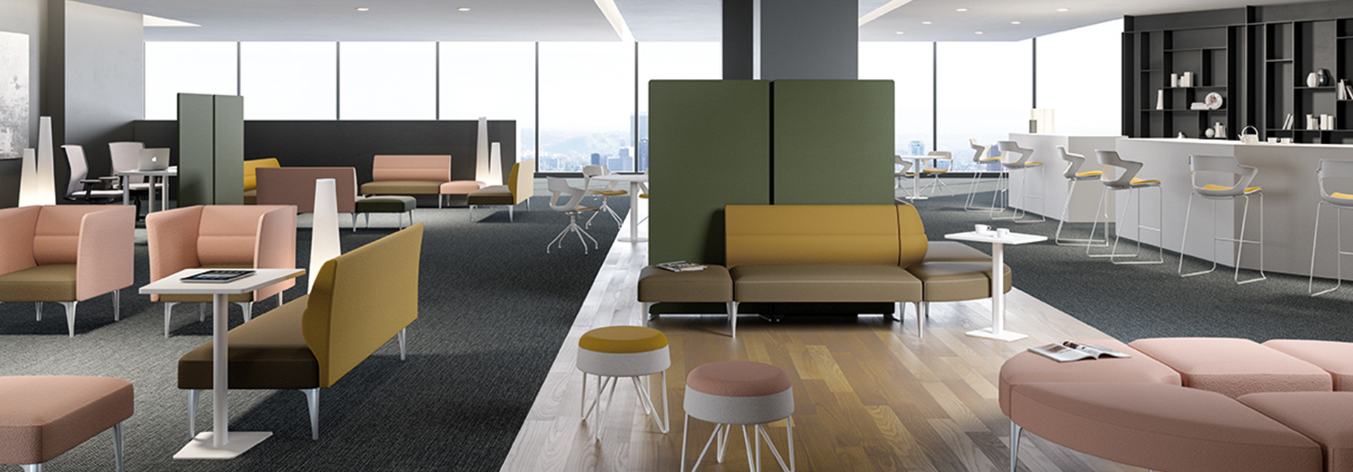 Sinua Panca | Soft Seating - Smart Office | LTContract